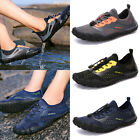 Men Strapped Sandals Water Shoes Breathable Quick Dry Snorkeling Beach Sports US