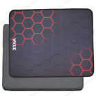 Red Blue Green Modern Simple Black Non-Slip Thick Rubber Large Mousepad Mat