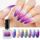BORN PRETTY 6ml Thermal Color Changing Nail Polish  3-layers Nail Art Varnish