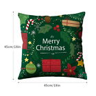 Pillow Case Square Cushion insert Cover For Christmas Home Sofa Office Decor 03