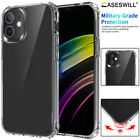 For iPhone 11 Pro Max Caseswill Clear Hard Acrylic Back Shockproof Case Cover