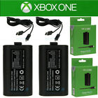 2Pcs Original Rechargeable Battery Pack For Xbox One Wireless Controller 1400mAh