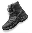 "Merrell Moab 2 8"" Side-Zip Men's Black Tactical Boots J17781 [ALL SIZES] SALE!"