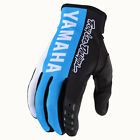NEW 2020 TROY LEE DESIGNS TLD GP YAMAHA MOTOCROSS MX GLOVES CYAN ALL SIZES
