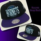 CHARLOTTE HORNETS snap back by Mitchell & Ness on eBay