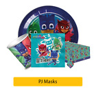 PJ Masks Birthday Party Range - Tableware Supplies Decorations {Amscan}