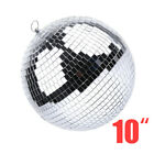 "6-12"" Large Mirror Glass Disco Ball Party Bands Club  DJ Stage Lighting Effect"