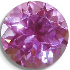 Lab Created Pink Sapphire Round Loose Gemstones Fine Cut AAA Quality 3mm-10mm