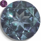 Lab Created Sapphire Alexandrite Like Color Change Round Loose Gemstones AAA