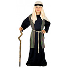 Shepherd Joseph Innkeeper Nativity Costume Kids Christmas Fancy Dress