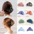 Внешний вид - Candy Color Acrylic Hair Claws Crab Clamp Hair Clip Make Up Hair Styling Tools G