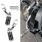 For Harley Davidson Electra Glide Ultra Classic Chrome Highway Pegs Foot Rests $72.1 USD on eBay
