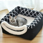 HOT Foldable Pet Dog Bed Igloo House Kennel Puppy Indoor Relax Tent Small/Large