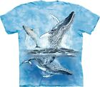 The Mountain Kids Cotton Blue Find 11 Whales Tails T-Shirt Youth Tee S  XL NWT
