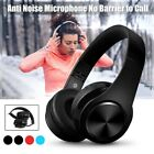 Wireless Bluetooth 5.0 Headphones Stereo Earphones Bass Noise Cancelling Headset