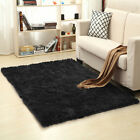 Soft Fluffy Rugs Anti-Skid Shaggy Area Rug Dining Room Home Bedroom Floor Mat