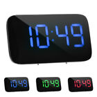 Alarm Clock Large LED Display Voice Control Electronic Snooze Backlight Desktop
