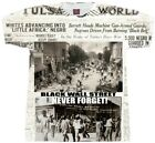Black Wall Street Sublimation Print T-Shirt. Tulsa Race Riot Shirt. African  for sale  Shipping to Nigeria