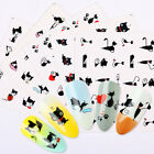 Nail Water Decals Little Black Cat Nail Art Transfer Stickers Decoration Tips