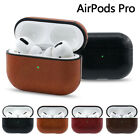 For Apple AirPods Pro Charging Box Case Leather Shockproof Protective Box Cover