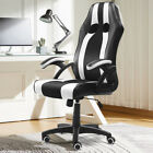 Gaming Chair Racing Style 360 Swivel Computer Seat Desk PU Leather High Back