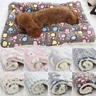 Dog Cat Puppy Pet Plush Blanket Mat Warm Sleeping Soft Bed Blankets Supplies Hot