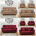 1/2/3/4 Seater Stretchable Washable Sofa Slipcover Soft Elastic Couch Cover
