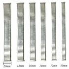 Stainless Steel Stretch Expansion Watch Band Strap 10/12/14/16/18/ Bracelet Prof image