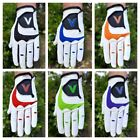 3x Pack Mens LH Golf Gloves All Weather & Leather 6 Colours RIGHT HAND GOLFER