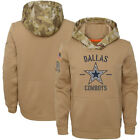 Men's Dallas Cowboys 2019 Salute to Service Sideline Therma Pullover Hoodie $79.99 USD on eBay