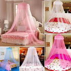 US Mosquito Net Bed Queen Size Home Bedding Lace Canopy Elegant Netting Princess image