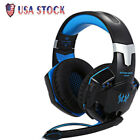 Gaming Keyboard Mouse Headset Game Combo Suit Set 3Color LED Backlight Wired USB