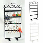 48 Holes Earrings Ear Studs Jewelry Display Rack Stand Organizer Case Holder Box