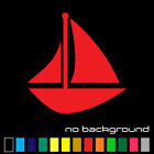 Sailboat Sticker Vinyl Decal - Sailing Ship Ocean Sea Boat Sail Wall Car Window