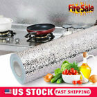Waterproof Oil Proof Aluminum Foil Sticker Self Adhesive Kitchen Wall Stickers