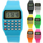 New Wrist Watches Children's Digital Calculator Watch for Kids Students Gift HOT image