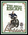 GREAT ESCAPE STEVE McQUEEN TRIUMPH MOTORCYCLE MOTORBIKE METAL SIGN PLAQUE 901 £4.99 GBP on eBay