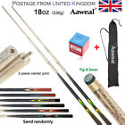 "57"" Billiard Pool Cue Stick Hardwood 18oz Snooker pool free case and tip chalk £20.99 GBP on eBay"