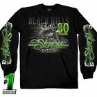 2020 Sturgis Long Sleeve T Shirt Black Hills Rally Motorcycle South Dakota  image