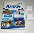 Nintendo Wii Sports RESORT game COMPLETE bundle MotionPlus Adapter U_1 2 3 4 lot