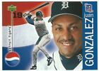 2000 Upper Deck Pepsi Detroit Tigers Baseball card Pick player/Complete your set on Ebay