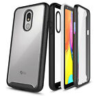 For LG Rebel 4 LTE/Aristo 2/3+/Phoenix 4/3 Built-In Screen Protector Phone Case