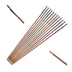 32in.Handmade Bamboo Arrows Real Feathers Archery OD7.8mm Hunting Sport Outdoor
