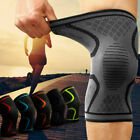2x Unisex Support Knee Brace Wraps Sports Gym Compression Sleeves Pain Relief $4.74 USD on eBay