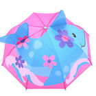 Baby Kids Cover Parasol Sun Rain Protection UV Rays 3D Cartoon Outdoor Umbrella