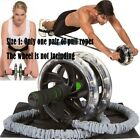 2pcs Double Wheels Ab Roller Pull Rope Waist Abdominal Slimming Sports Equipment
