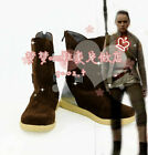 New Star Wars Rey Cosplay Shoes Halloween Costume Boots $48.9 USD on eBay