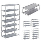 Kyпить 3/4/5/6/7 Tier Metal Shoe Rack Organizer Shelf Stand Wall Bench Closet Storage на еВаy.соm