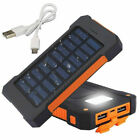 500000mAh portable external battery charger large capacity 2USB mobile power