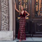 Ever-Pretty US Deep V-neck Tassel Long Evening Prom Dress Bodycon Celebrity Gown